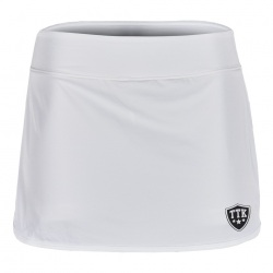 TTK Skirt & Pant White - Black Logo