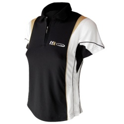 Polo Mime Mujer Black